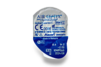 Air Optix plus HydraGlyde Contact Lenses - lens packaging