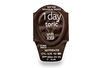 Biomedics 1 Day Extra Toric Contact Lenses - lens packaging