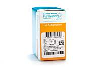 PureVision2HD for Astigmatism Contact Lenses - prescription box view