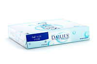 Dailies All Day Comfort Contact Lenses - prescription box view