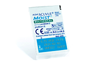 1 Day Acuvue Moist Multifocal Contact Lenses - lens packaging