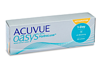 Acuvue Oasys 1 Day for Astigmatism Contact Lenses - front of the box