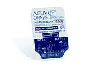 Acuvue Oasys 1 Day for Astigmatism Contact Lenses - lens packaging