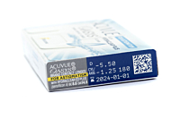 Acuvue Oasys for Astigmatism Contact Lenses - prescription box view