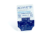 Acuvue Oasys for Astigmatism Contact Lenses - lens packaging