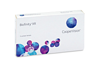 Biofinity XR Contact Lenses - front of the box