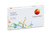 Proclear Multifocal Contact Lenses - front of the box