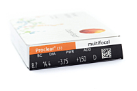 Proclear Multifocal Contact Lenses - prescription box view