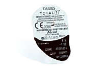 Dailies TOTAL 1 Contact Lenses - lens packaging