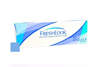 Freshlook One Day Colour - Blue Contact Lenses Front of the Box
