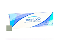 Freshlook One Day Colour - Green Contact Lenses Front of the Box