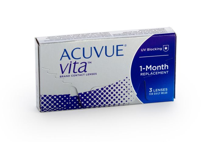 Acuvue Vita Contact Lenses - front of the box