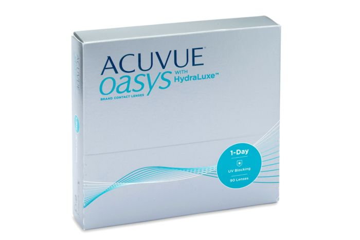 Acuvue Oasys 1 Day (90 lenses)