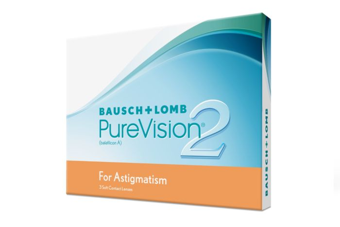 PureVision2 for Astigmatism (3 Lenses)