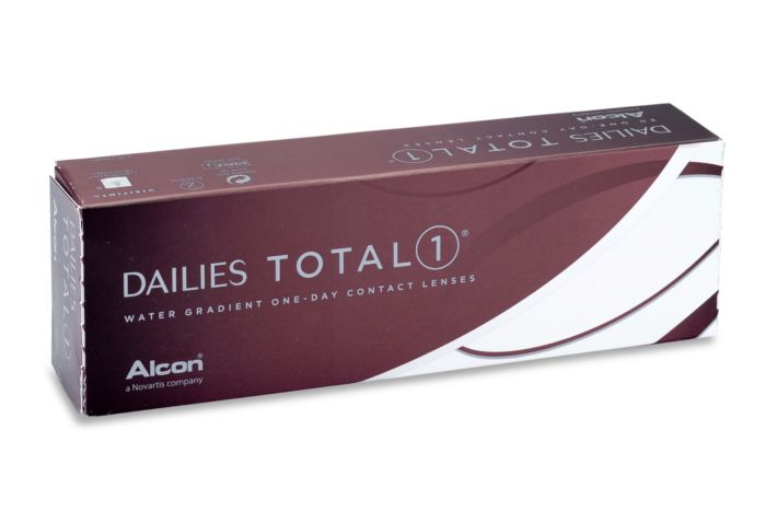 Dailies TOTAL 1 Contact Lenses - front of the box