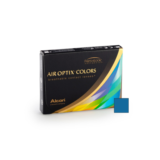 Air Optix Colors - Brilliant Blue (2 lenses)