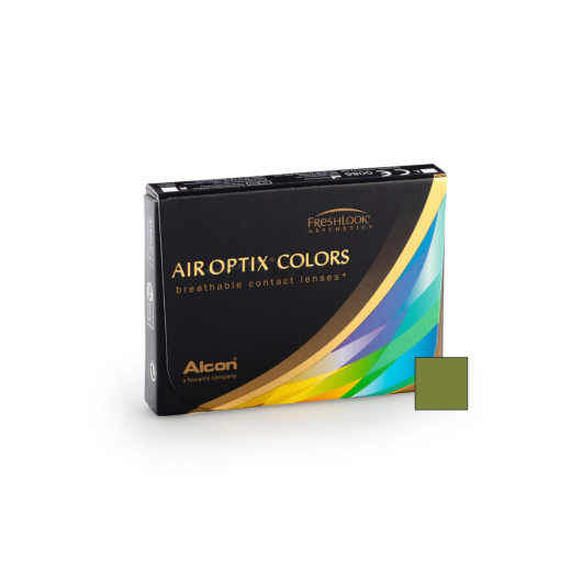 Air Optix Colors - Gemstone Green (2 lenses)