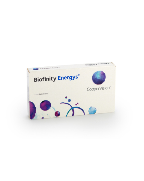 Biofinity Energys Contact Lenses - front of the box