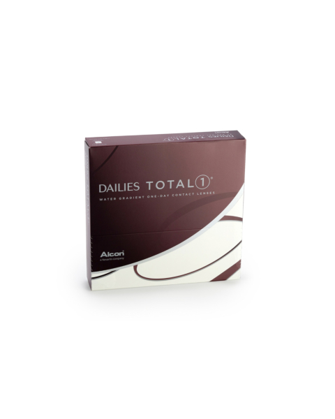Dailies TOTAL 1 Contact Lenses - front of box