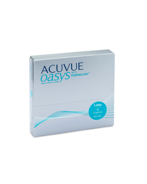 Acuvue Oasys 1 Day Contact Lenses - front of the box
