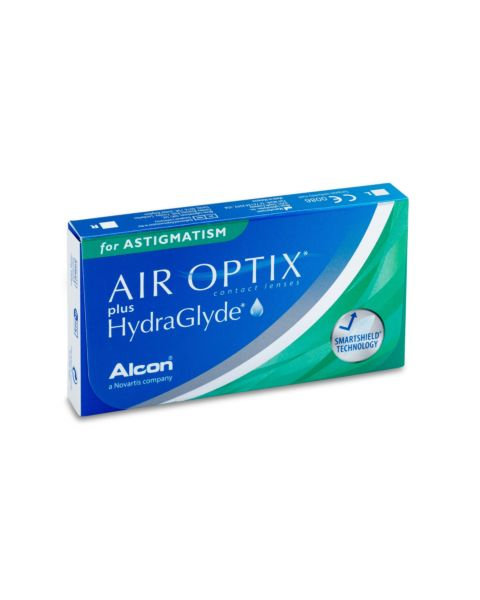 Air Optix for Astigmatism Contact Lenses - front of the box