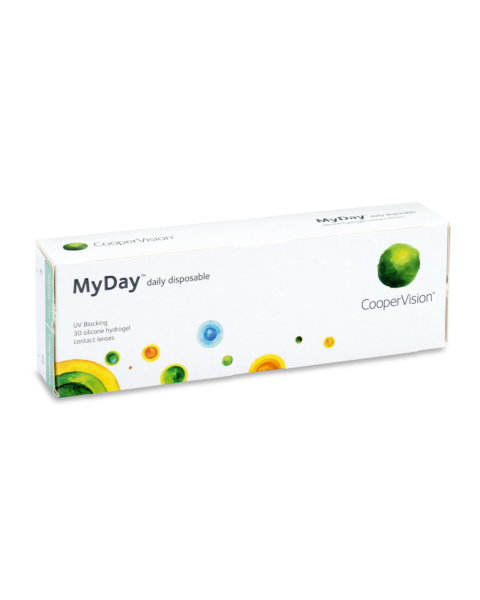 MyDay Contact Lenses - front of the box